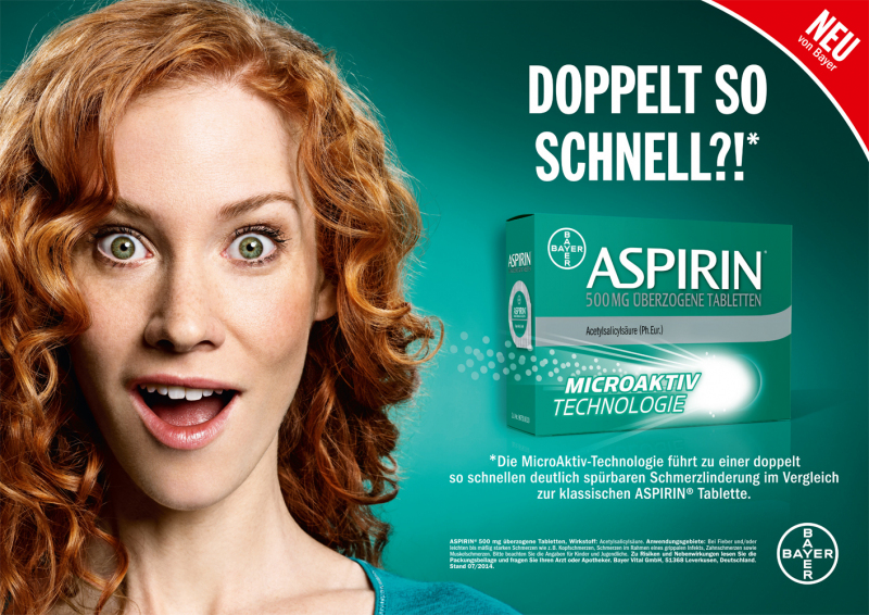photography: | client: Bayer/Aspirin