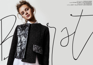 photography: Caro Zenker   styling: Claire   model: Esther Kellner c/o Most wanted Models
