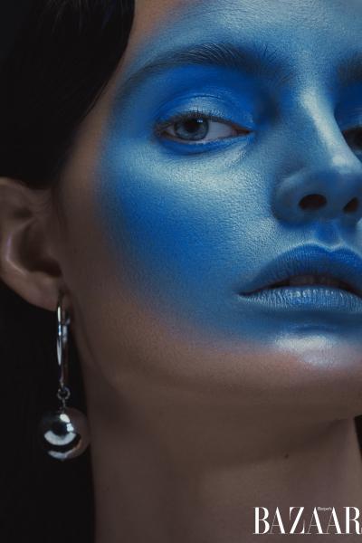 photography: Oliver Rudolph | model: Delfina |usage: Harper's Bazaar Ukraine