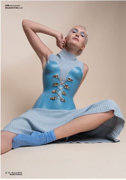 photography: Marina Schneider-Moog  hair & make-up: Christine Eleven   styling: Beata Nitzke