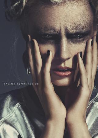photography: Benjamin Becker | make-up: Christine Eleven | hair: Rima Sium | styling: Susi Bauer