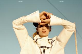 photography: Felix Bernason | model: Michaela Bodenmiller c/o le management | usage: YOKO magazine