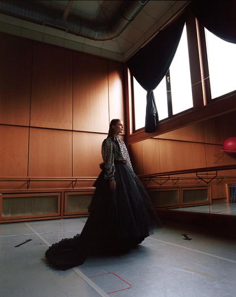 photography: Felix Bernason | model: Custodiot Thais c/o Elle model agency brasil