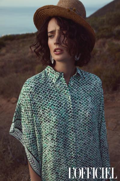photography: Per Florian Appelgren | model: Marizanne Visser | usage: L'Officiel Brasil
