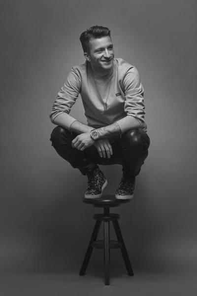 photography: Stefan Grey |model: Marco Reus |styling: Jill Kramer