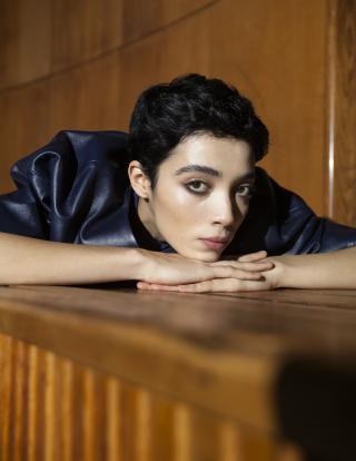 photography: Jessica Grossmann  styling: Y.M. Adhimiharja  model: Dominique c/o M4 Models   usage: The Kunst Magazine