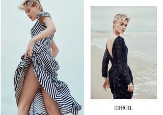 photography: Marie Schmidt | hair & make-up: Bea Soma | model: Nicole Gregorczuk  | usage: L'Officiel Brasil, L'Officiel Baltic